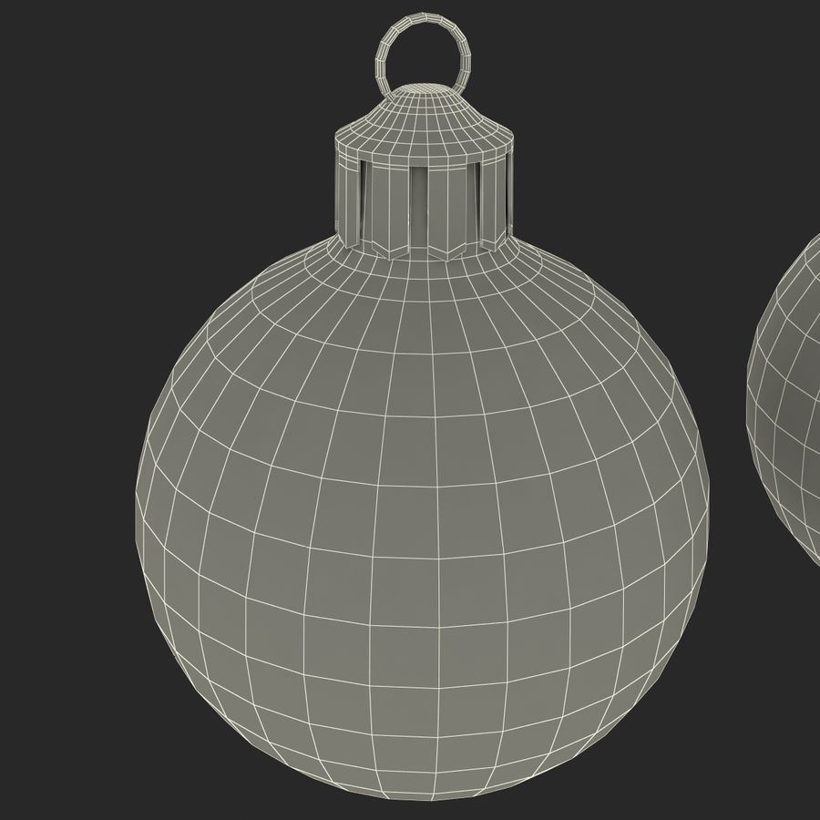 Christmas Ornament Balls 1 royalty-free 3d model - Preview no. 26