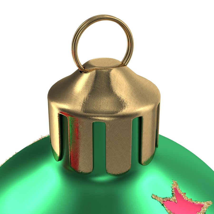 Christmas Ornament Balls 1 royalty-free 3d model - Preview no. 17