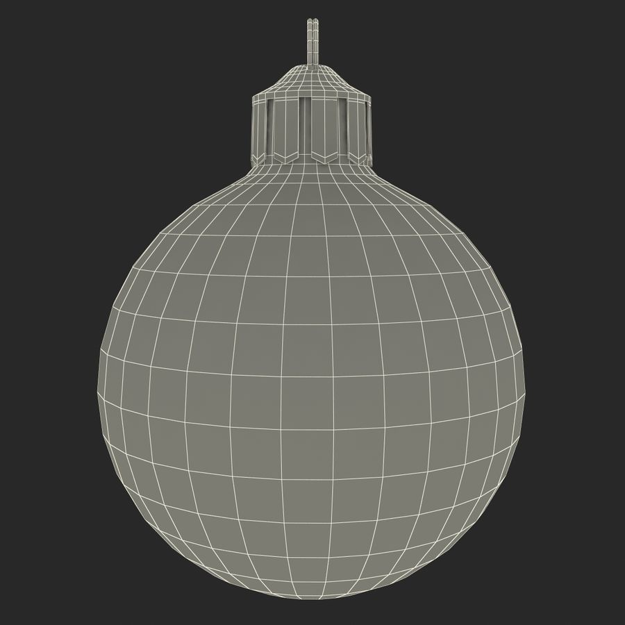 Christmas Ornament Balls 1 royalty-free 3d model - Preview no. 20