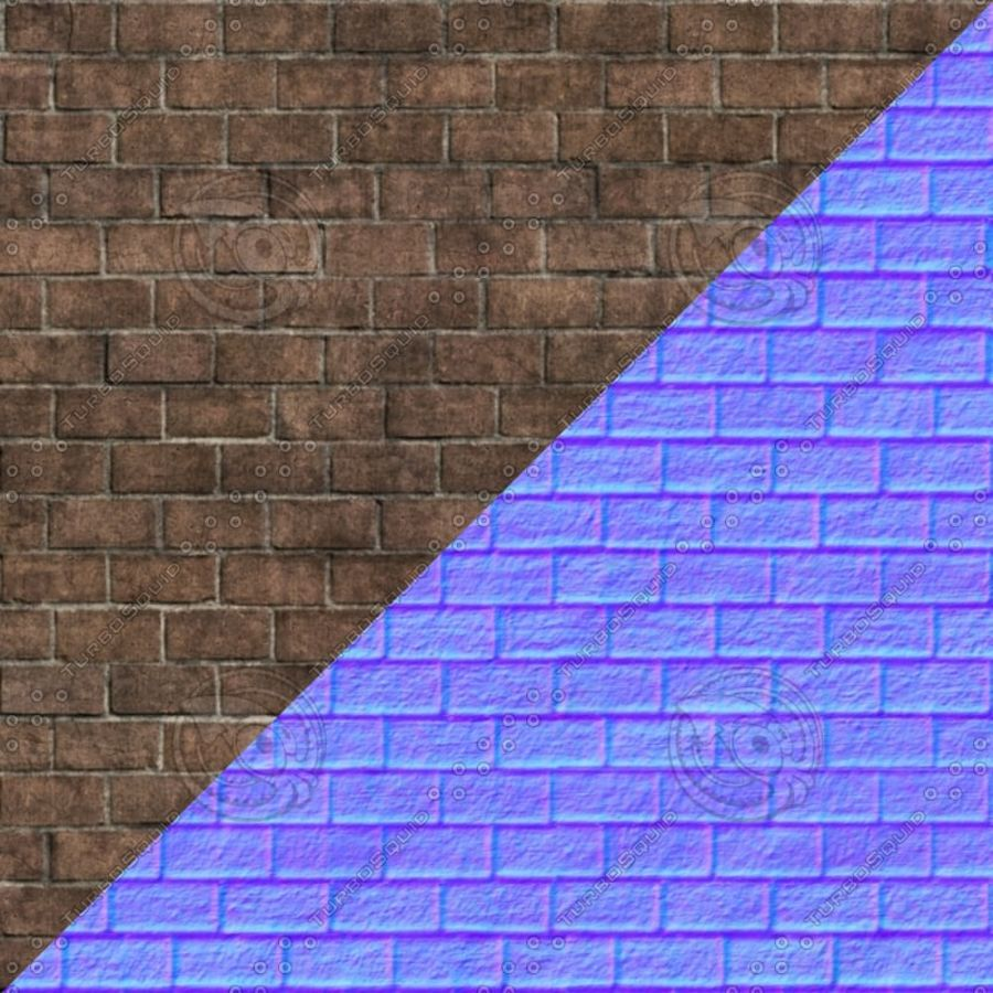 Gebroken muur royalty-free 3d model - Preview no. 7