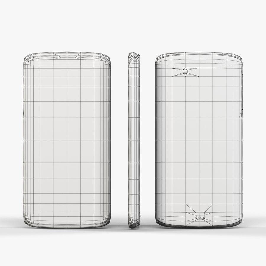 Sharp SH837W White royalty-free 3d model - Preview no. 8