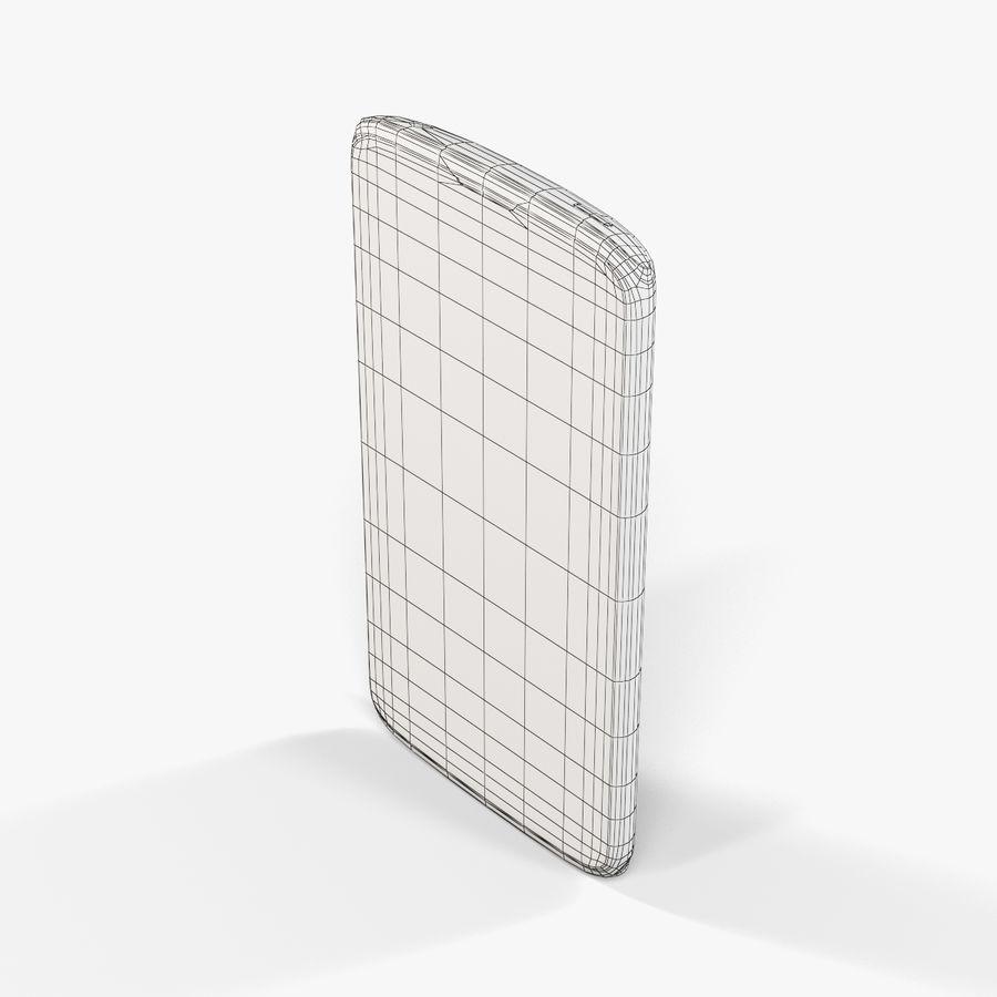Sharp SH837W White royalty-free 3d model - Preview no. 9