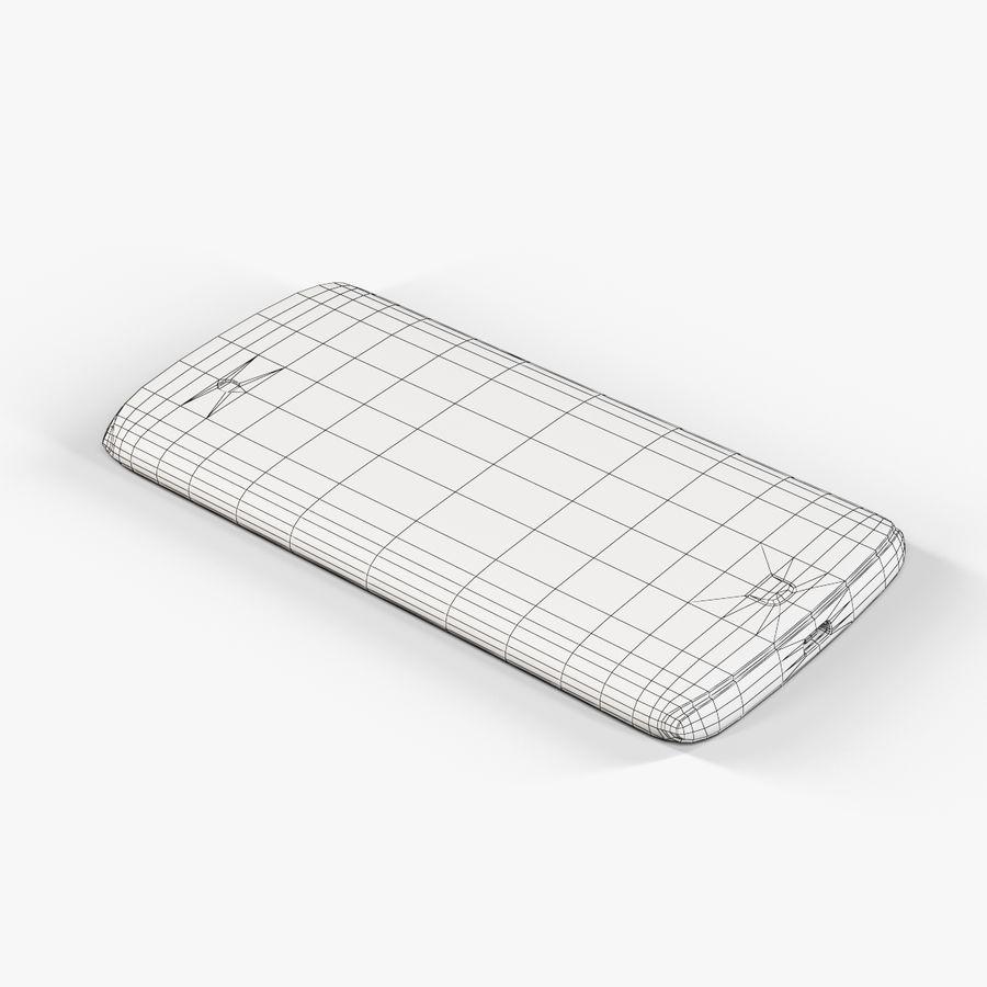 Sharp SH837W White royalty-free 3d model - Preview no. 10