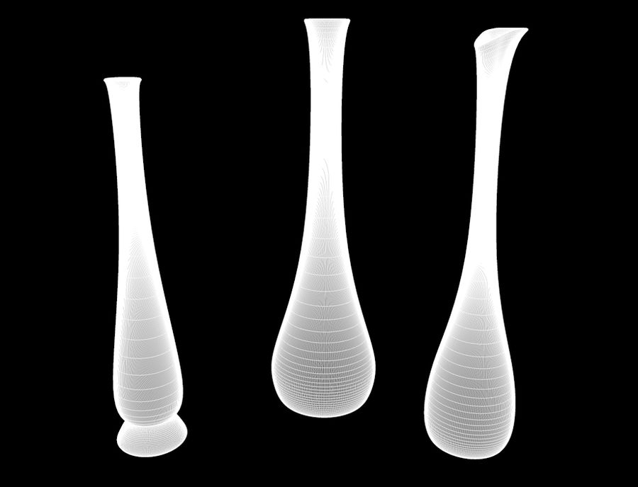 Les Vases royalty-free 3d model - Preview no. 5