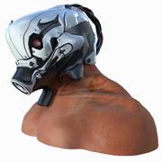 Hjälm 3d model