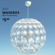 MASKROS IKEA LAMP 3d model