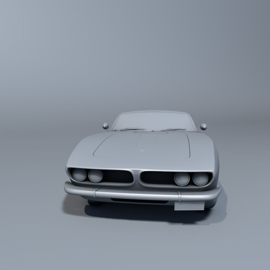 Car iso grifo royalty-free 3d model - Preview no. 4
