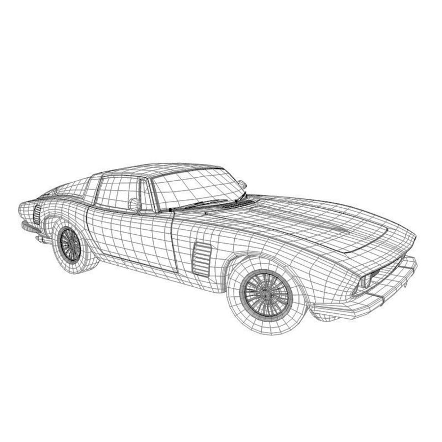 Car iso grifo royalty-free 3d model - Preview no. 6