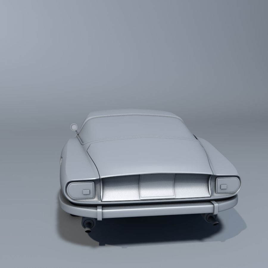 Car iso grifo royalty-free 3d model - Preview no. 5
