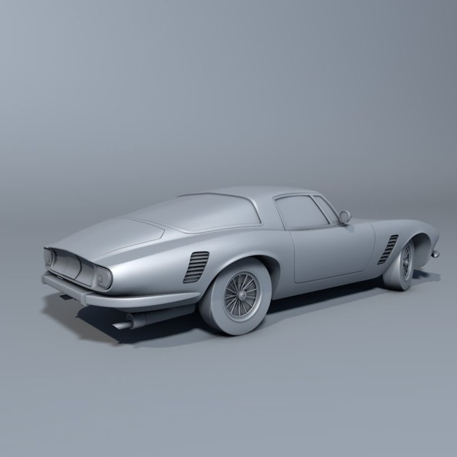 Car iso grifo royalty-free 3d model - Preview no. 3