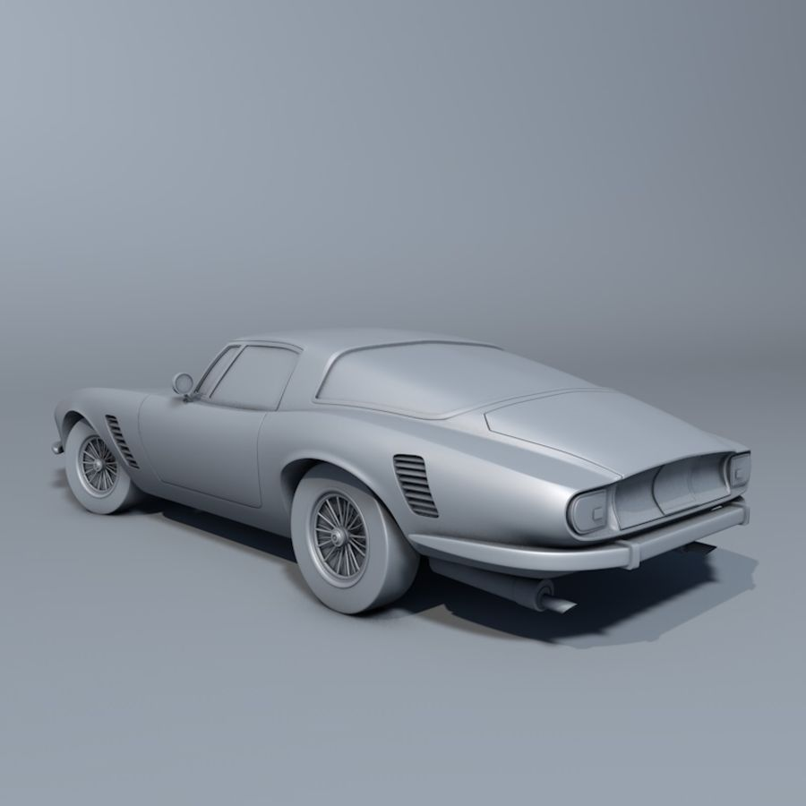 Car iso grifo royalty-free 3d model - Preview no. 2