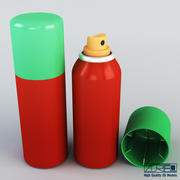 Spray can 100ml v 1 3d model