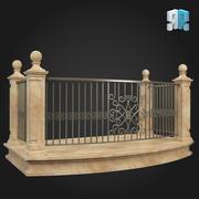 Balcony 009 3d model