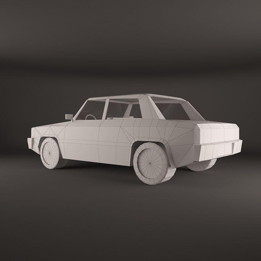 Simplesmente Car V2 royalty-free 3d model - Preview no. 5