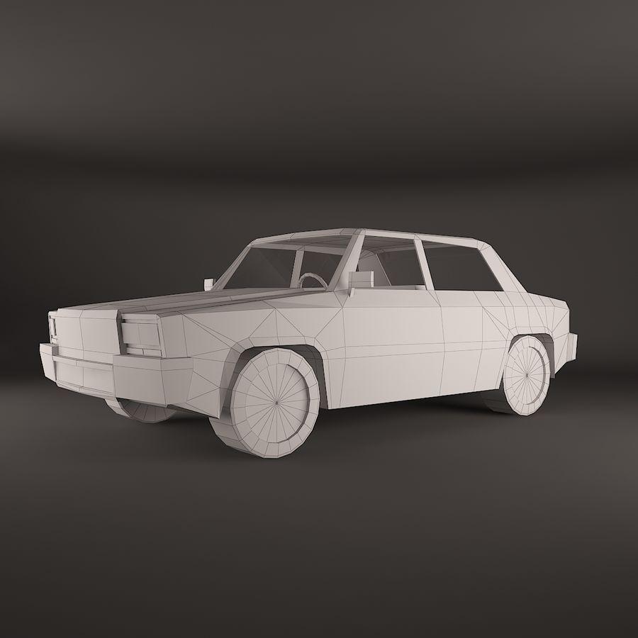 Simplesmente Car V2 royalty-free 3d model - Preview no. 2
