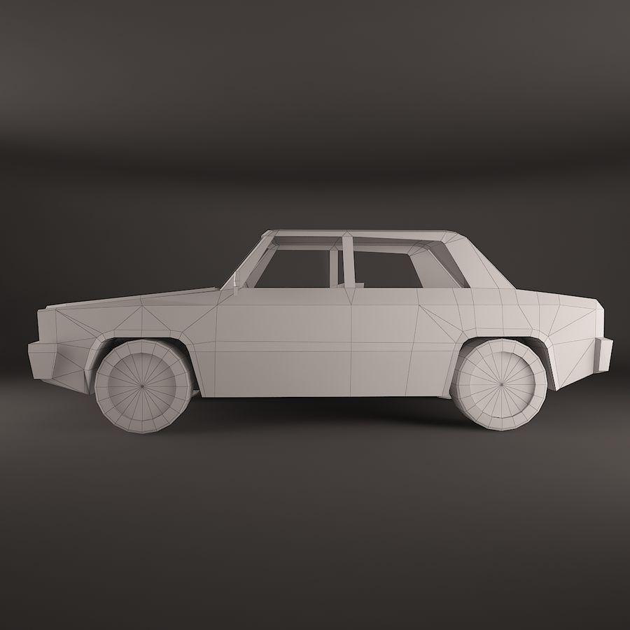 Simplesmente Car V2 royalty-free 3d model - Preview no. 4