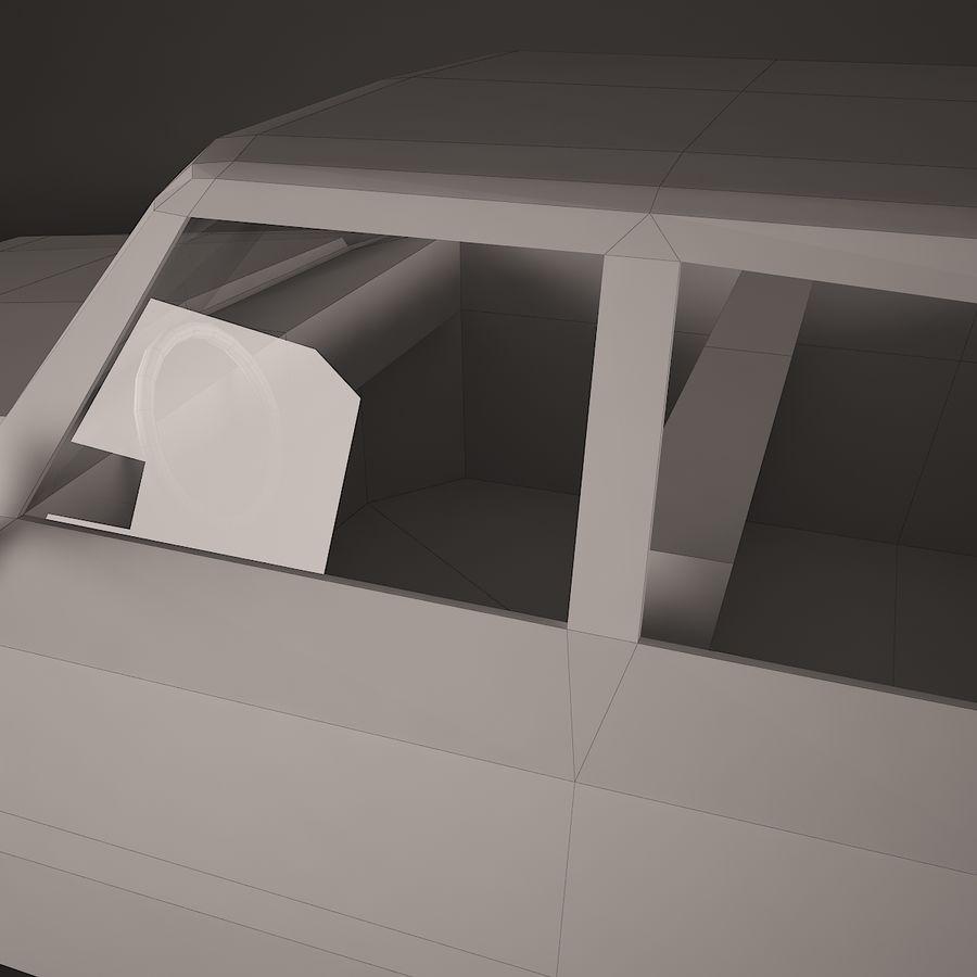 Simplesmente Car V2 royalty-free 3d model - Preview no. 6