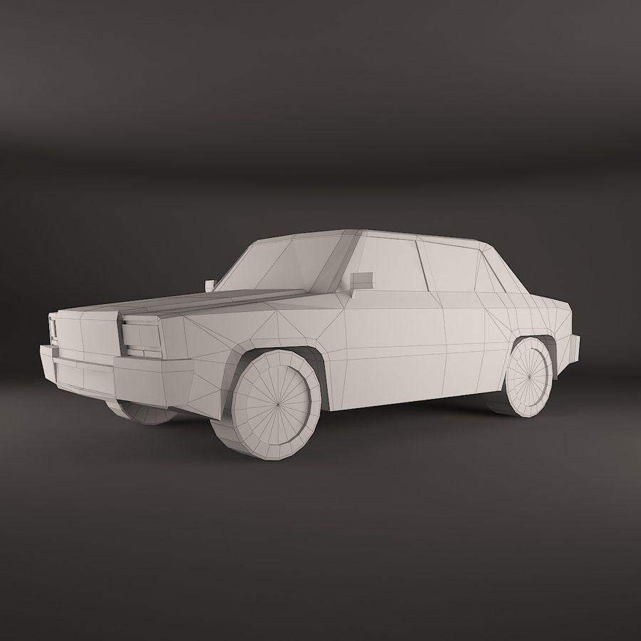Simplesmente Car V2 royalty-free 3d model - Preview no. 3