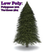 Fir Tree 1 Low Poly 3d model
