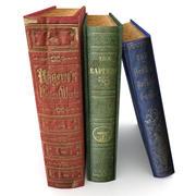 Book Set 4 3d model