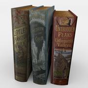 Book Set 1 3d model