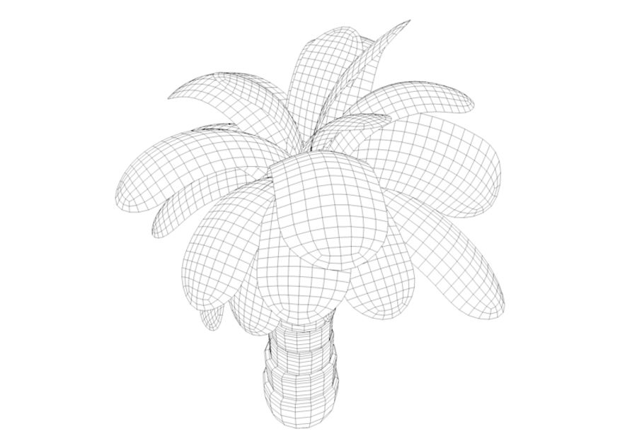 Palm Tree royalty-free 3d model - Preview no. 4