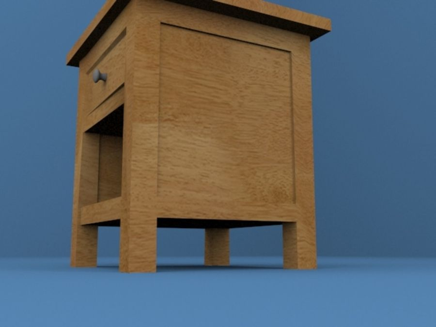 Nachttisch royalty-free 3d model - Preview no. 5