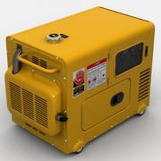 Bärbar generator 3d model