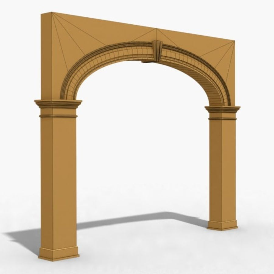 Arch 006 12ft - 1 royalty-free 3d model - Preview no. 7