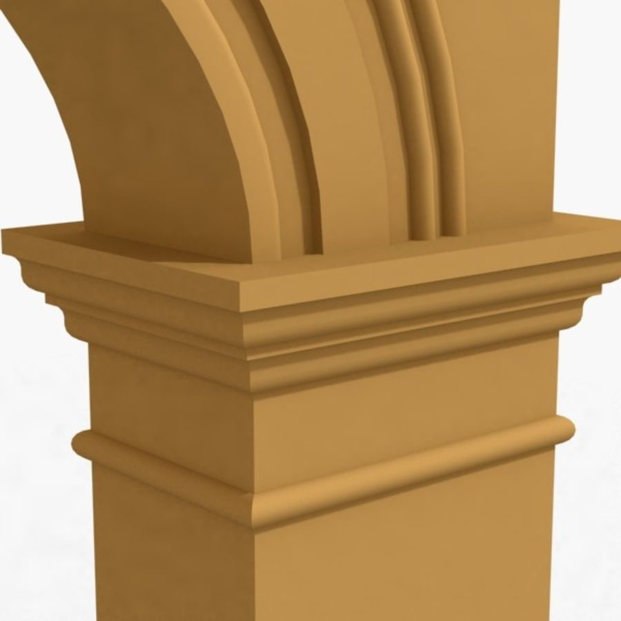 Arch 006 12ft - 1 royalty-free 3d model - Preview no. 5