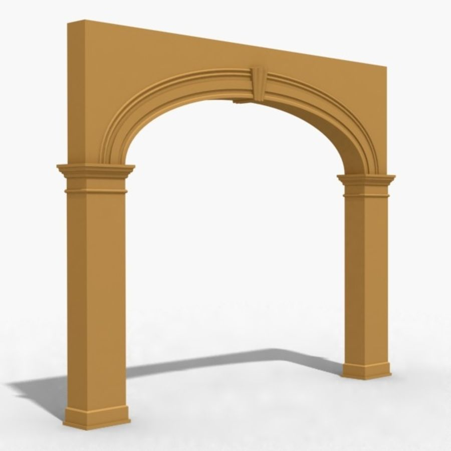 Arch 006 12ft - 1 royalty-free 3d model - Preview no. 1