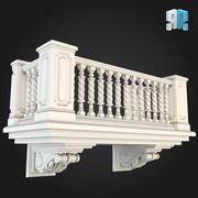 Balcony 010 3d model