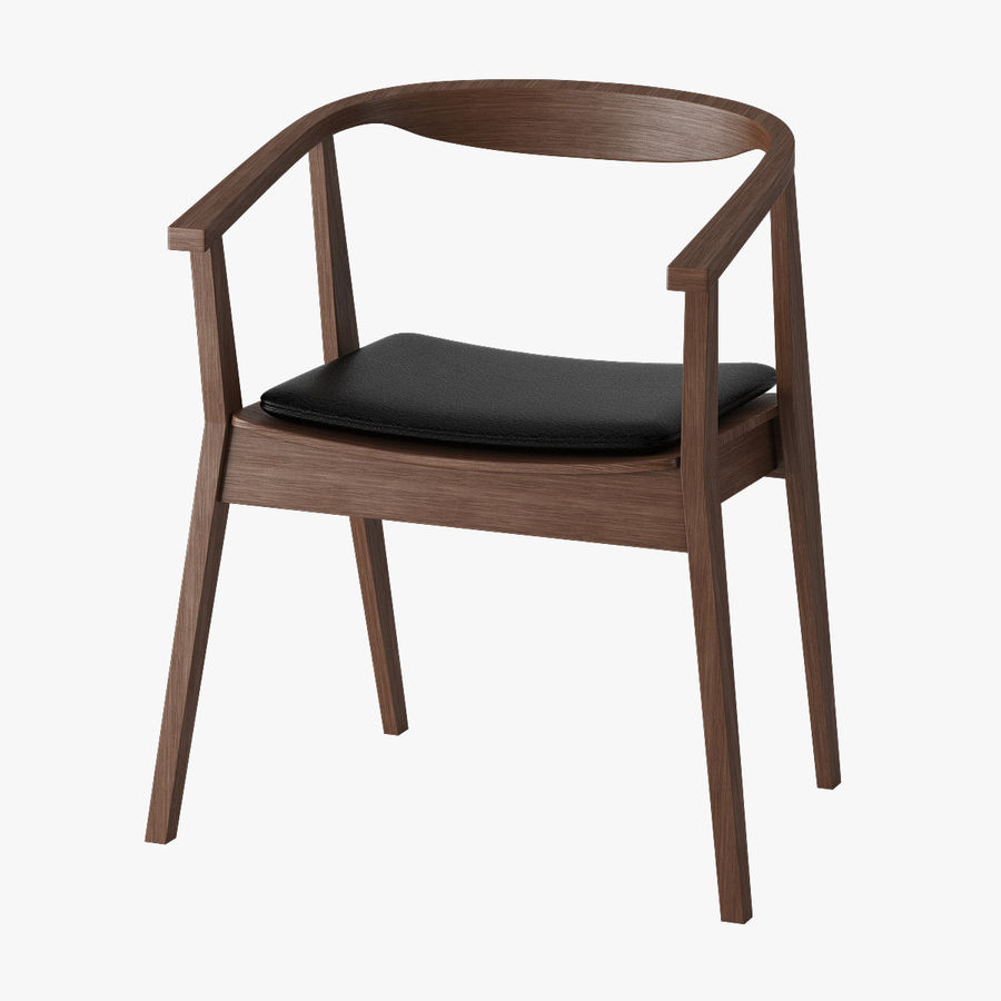 Ikea Stockholm Chair royalty-free 3d model - Preview no. 1