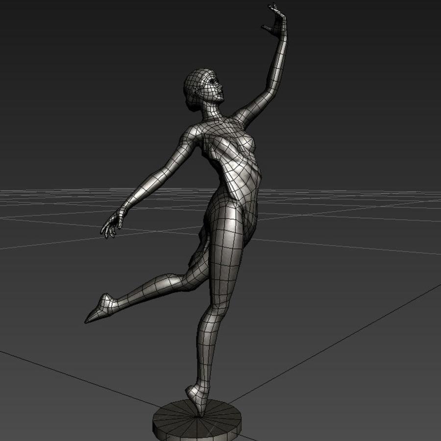 Sculpture of a dancer 3D Model $18 -  fbx  ma  max - Free3D