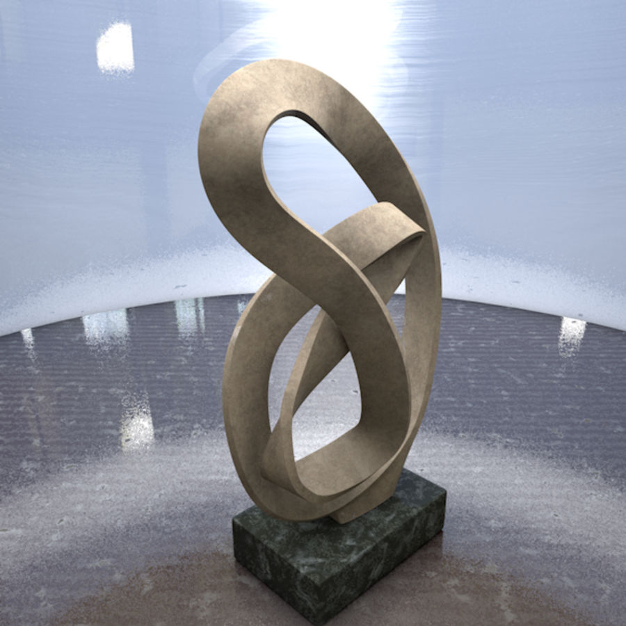 Home decor #1 royalty-free 3d model - Preview no. 3