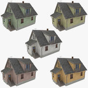 Cottage two collection 3d model
