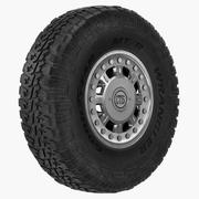 Off Road Wheel For Hummer H1 3d model