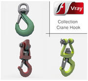 Crane Hooks 3d model