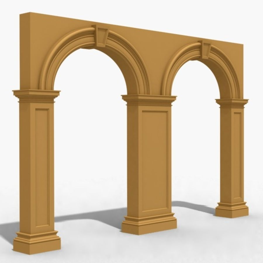 Arch 007 6ft - 2 royalty-free 3d model - Preview no. 1