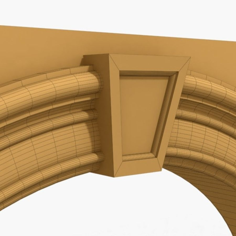 Arch 007 6ft - 2 royalty-free 3d model - Preview no. 4
