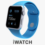APPLE WATCH SPORT 42mm 3d model