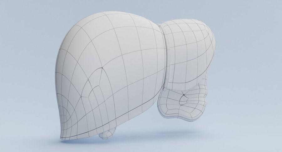 Foie royalty-free 3d model - Preview no. 15