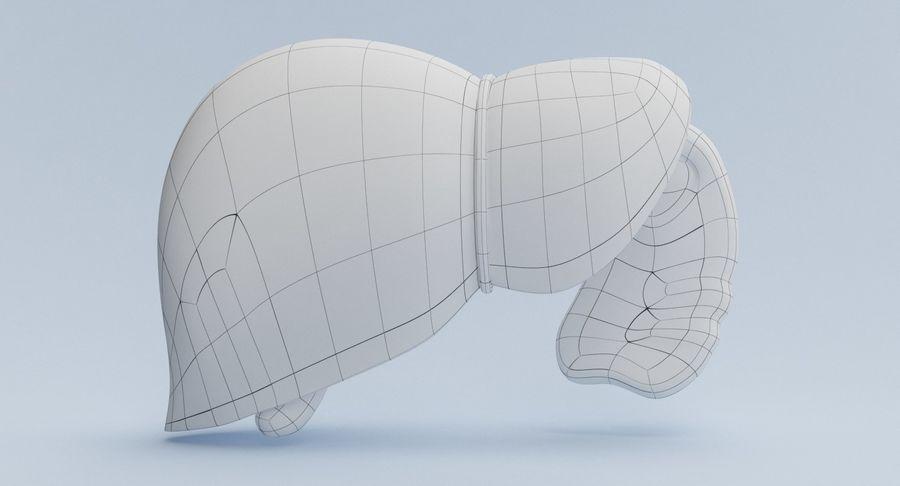 Foie royalty-free 3d model - Preview no. 14