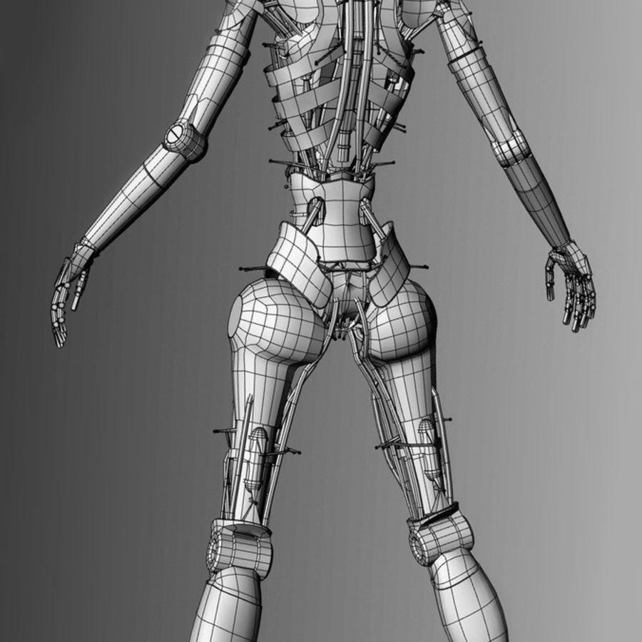 Robot d'assistance médicale royalty-free 3d model - Preview no. 11