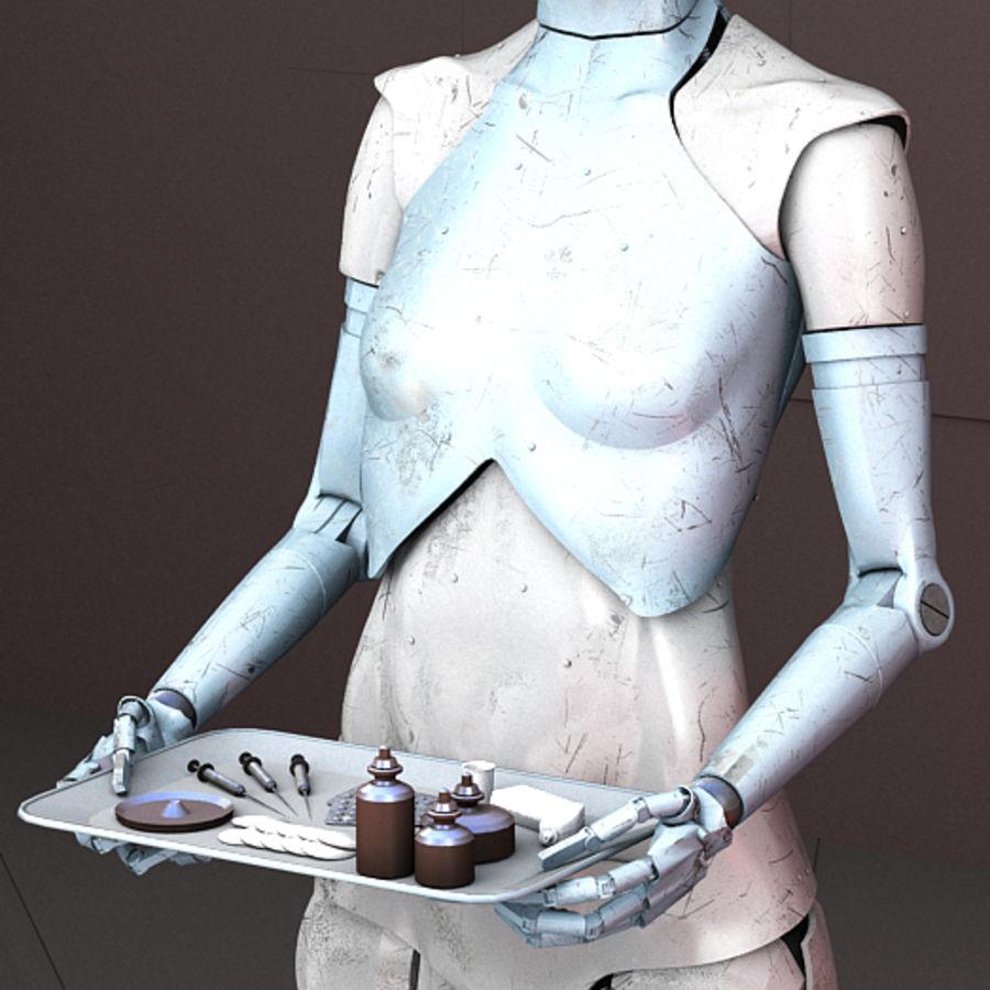 Robot d'assistance médicale royalty-free 3d model - Preview no. 2