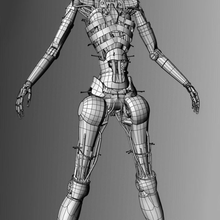 Robot d'assistance médicale royalty-free 3d model - Preview no. 10