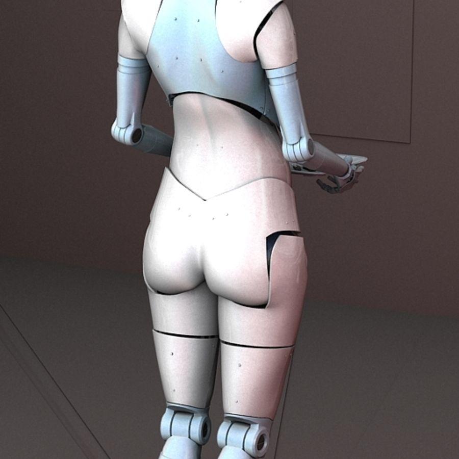 Robot d'assistance médicale royalty-free 3d model - Preview no. 6