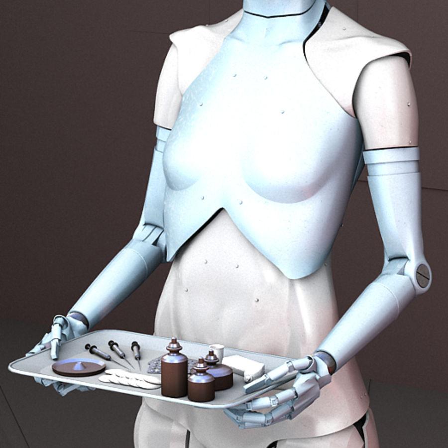 Robot d'assistance médicale royalty-free 3d model - Preview no. 4