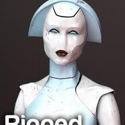 Medische aanwezigheidsrobot 3d model