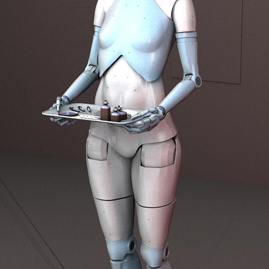 의료 출석 로봇 royalty-free 3d model - Preview no. 5